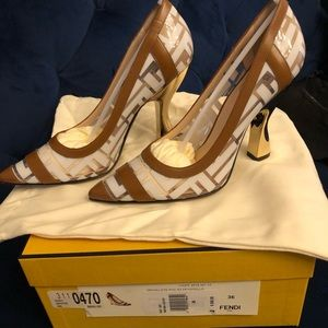BNIB FENDI PVC PUMPS